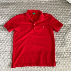 Classic Red Polo